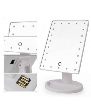 Зеркало косметическое для макияжа с подсветкой светодиодами ЗМ-Б