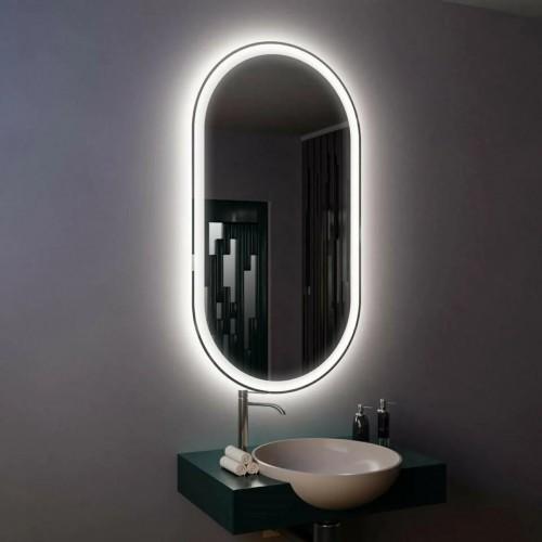 Зеркало с подсветкой настенное для ванной Данте